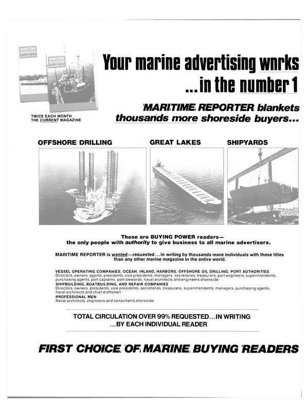 Maritime Reporter Magazine, page 44,  Dec 15, 1980 PORT AUTHORITIES Directors