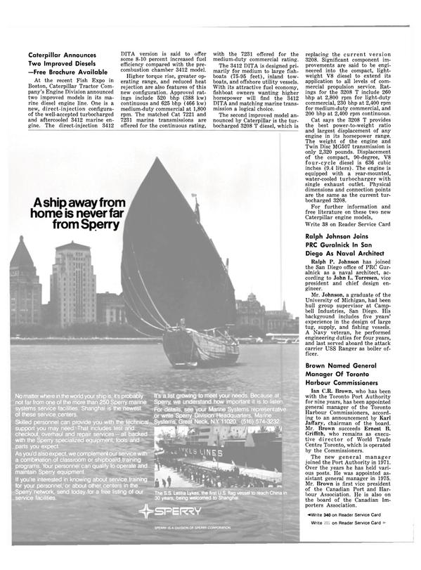 Maritime Reporter Magazine, page 26,  Jan 1981