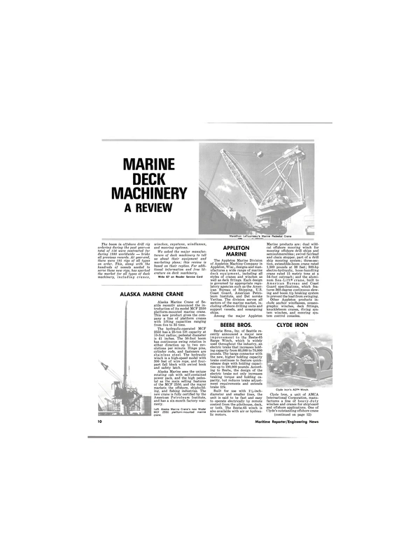Maritime Reporter Magazine, page 8,  Feb 1981 Bureau of Shipping