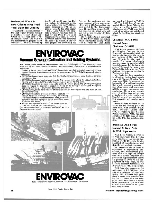 Maritime Reporter Magazine, page 16,  Mar 15, 1981