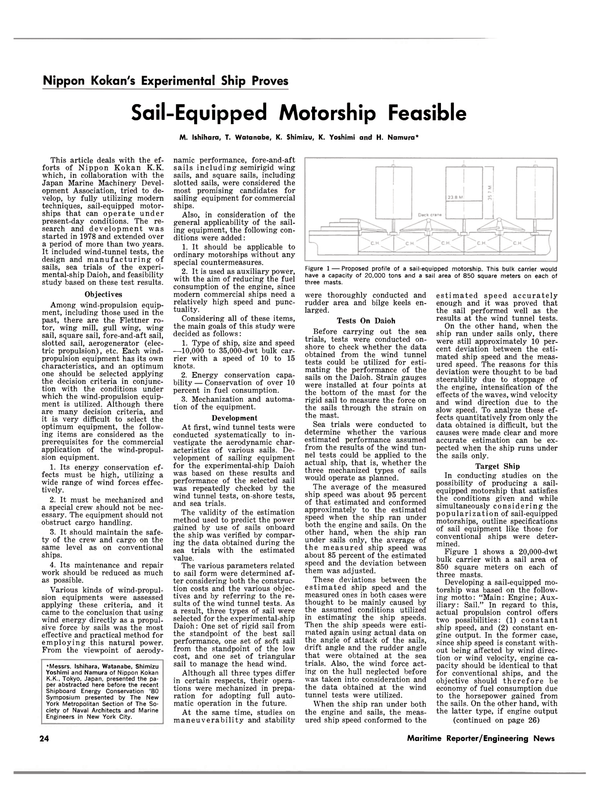 Maritime Reporter Magazine, page 22,  Mar 15, 1981