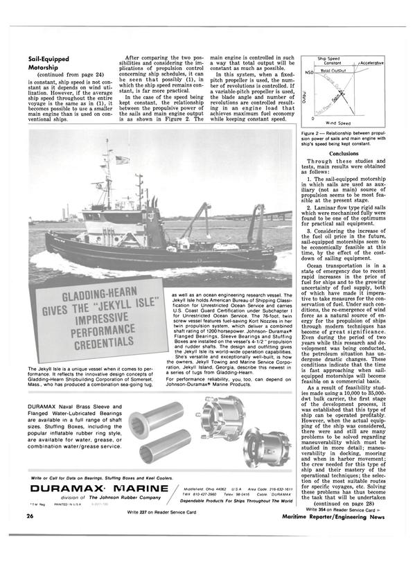 Maritime Reporter Magazine, page 24,  Mar 15, 1981 Ohio