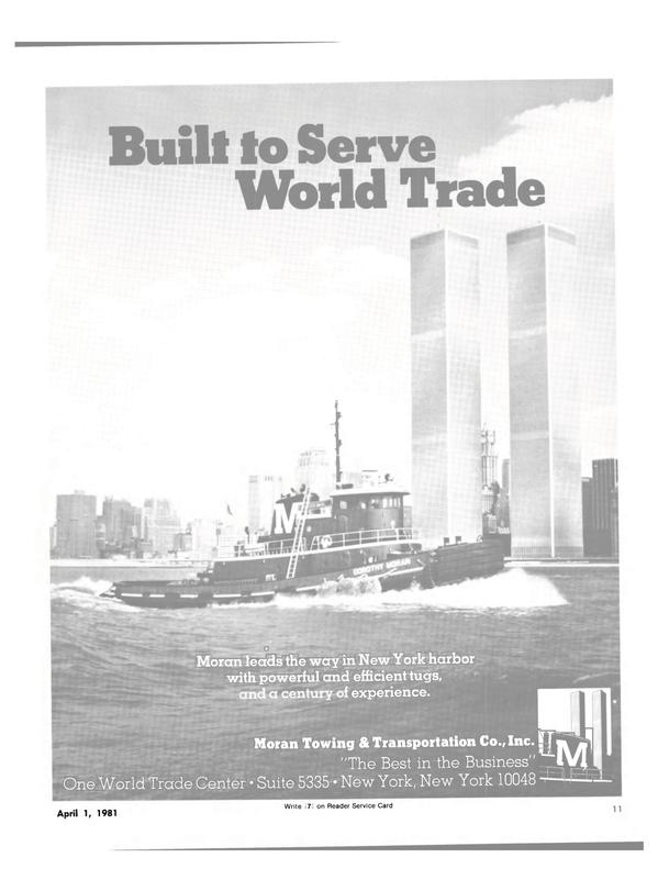 Maritime Reporter Magazine, page 9,  Apr 1981