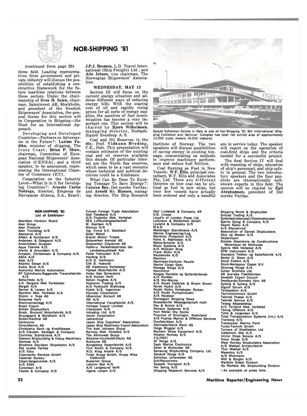 Maritime Reporter Magazine, page 20,  Apr 1981