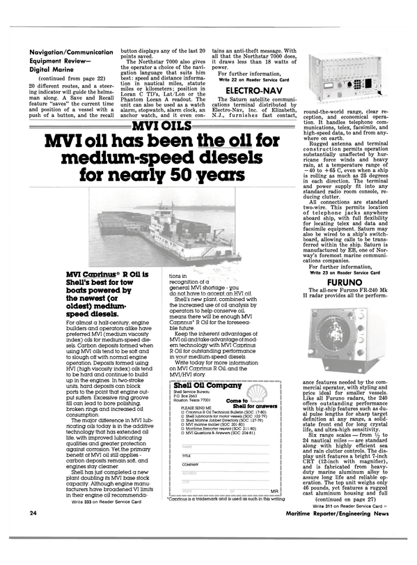 Maritime Reporter Magazine, page 22,  Apr 15, 1981 Texas