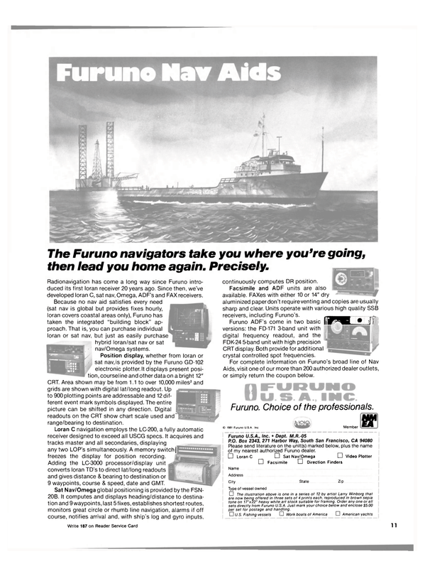 Maritime Reporter Magazine, page 9,  May 1981 Harbor Way