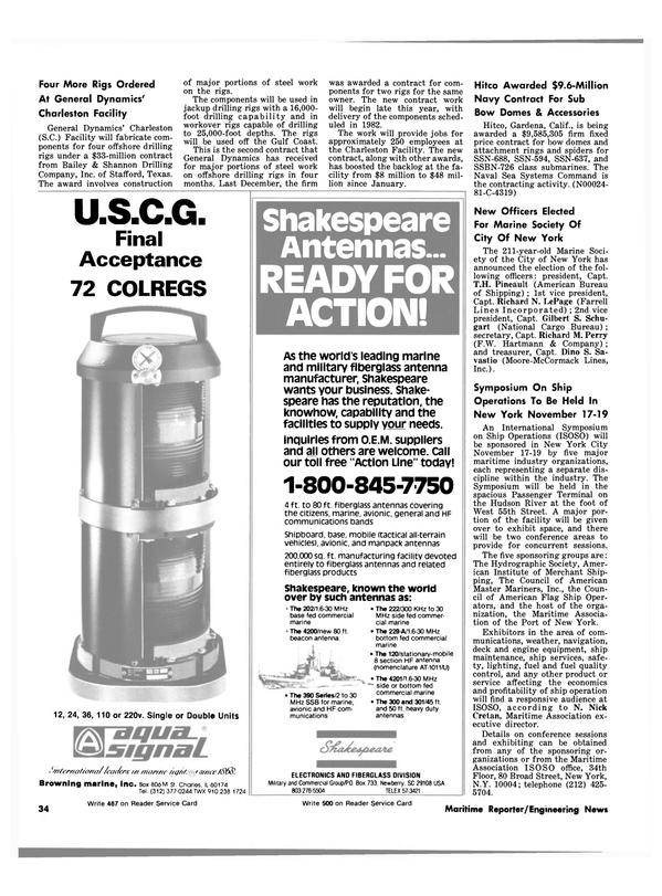 Maritime Reporter Magazine, page 30,  May 1981 Illinois