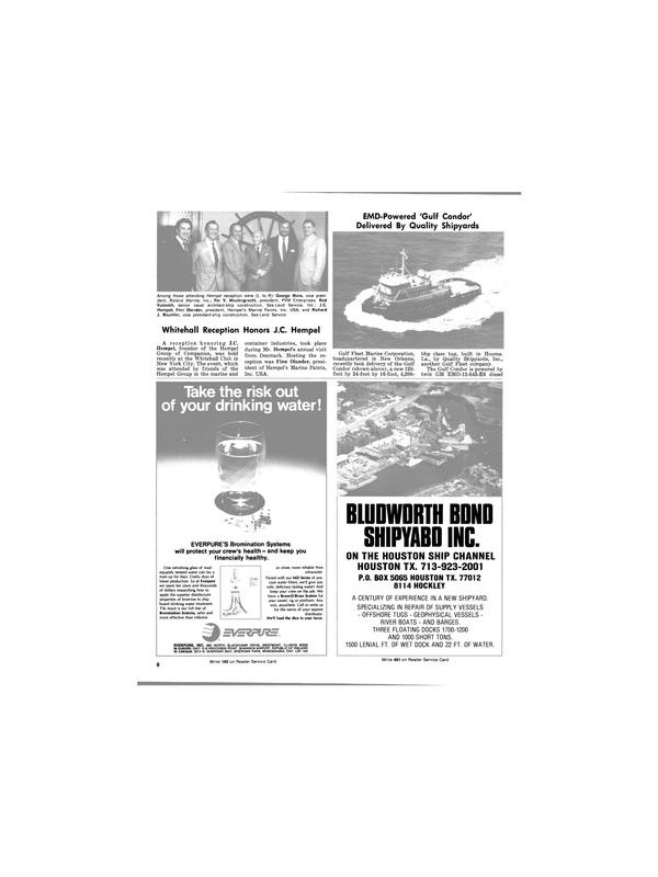Maritime Reporter Magazine, page 8,  Jun 1981 BONO SHIPYABO