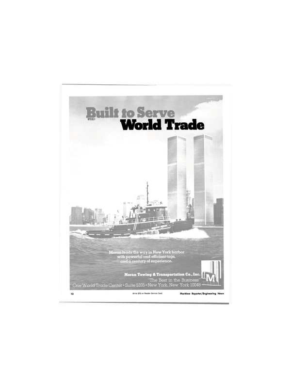 Maritime Reporter Magazine, page 12,  Jun 1981 MM World Trade