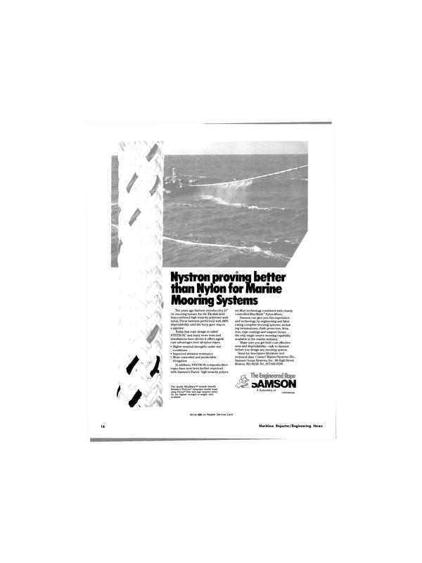 Maritime Reporter Magazine, page 16,  Jun 1981 Duron