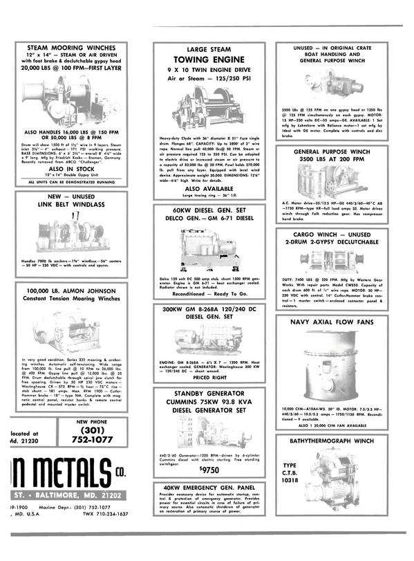 Maritime Reporter Magazine, page 29,  Jun 15, 1981