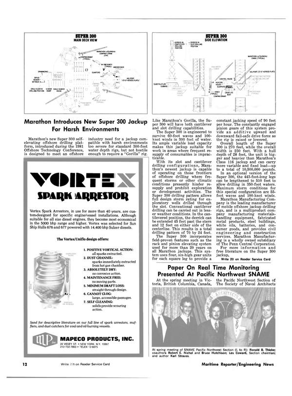 Maritime Reporter Magazine, page 10,  Jul 1981