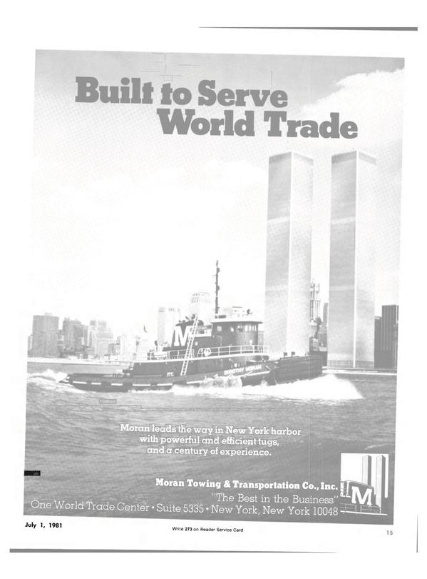 Maritime Reporter Magazine, page 13,  Jul 1981