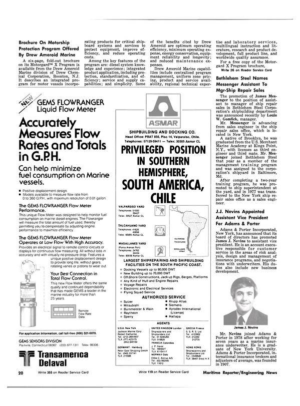 Maritime Reporter Magazine, page 18,  Jul 1981