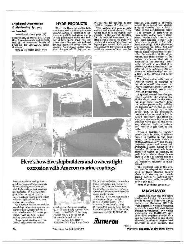 Maritime Reporter Magazine, page 24,  Jul 1981 U.S. Coast Guard