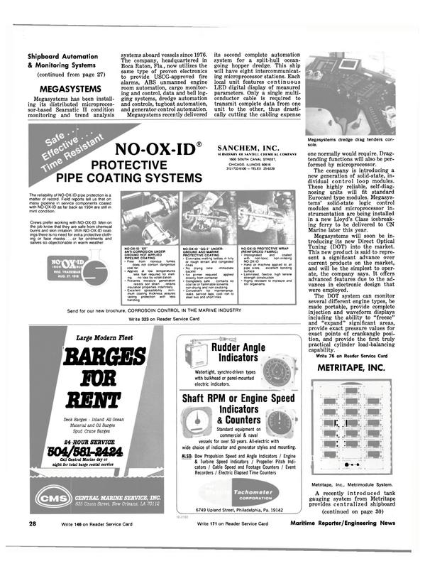 Maritime Reporter Magazine, page 26,  Jul 1981