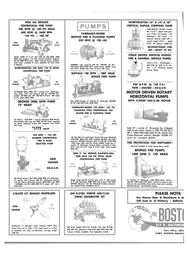 Maritime Reporter Magazine, page 28,  Jul 15, 1981 metal