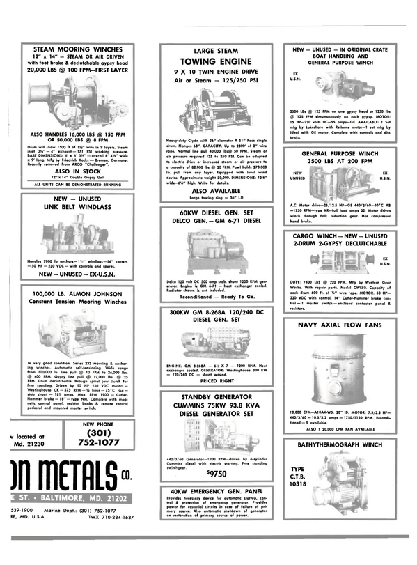Maritime Reporter Magazine, page 29,  Jul 15, 1981
