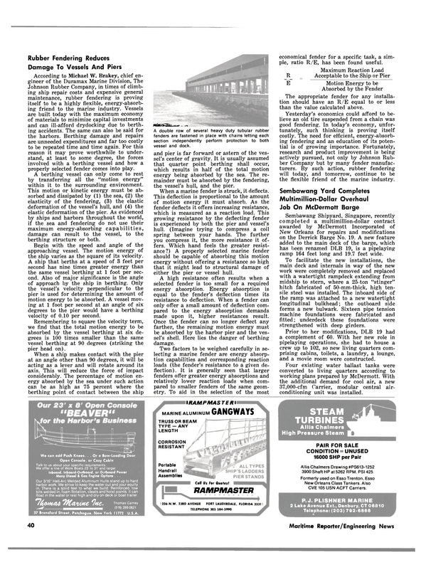 Maritime Reporter Magazine, page 38,  Jul 15, 1981