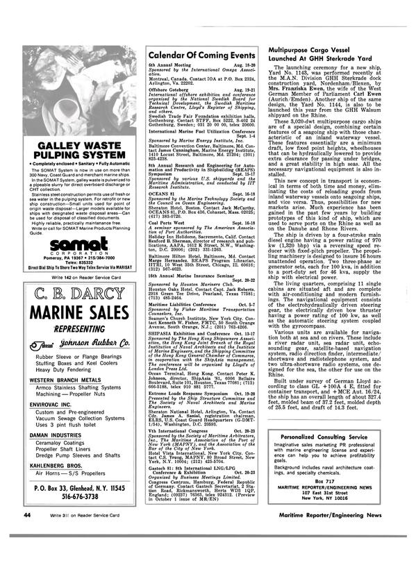 Maritime Reporter Magazine, page 42,  Jul 15, 1981 Jack McCarthy