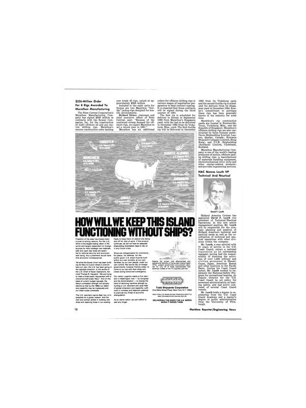 Maritime Reporter Magazine, page 10,  Aug 1981 Hawaii