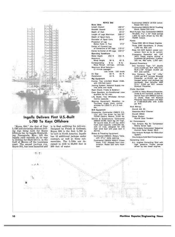 Maritime Reporter Magazine, page 8,  Sep 1981