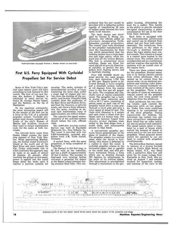 Maritime Reporter Magazine, page 16,  Sep 1981
