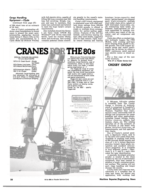 Maritime Reporter Magazine, page 26,  Sep 1981