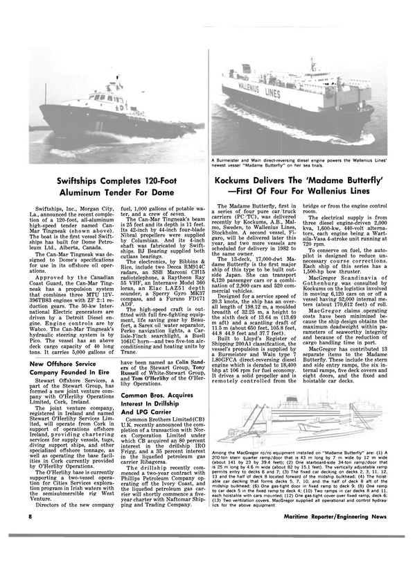 Maritime Reporter Magazine, page 6,  Sep 1981