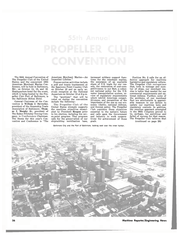 Maritime Reporter Magazine, page 24,  Sep 15, 1981