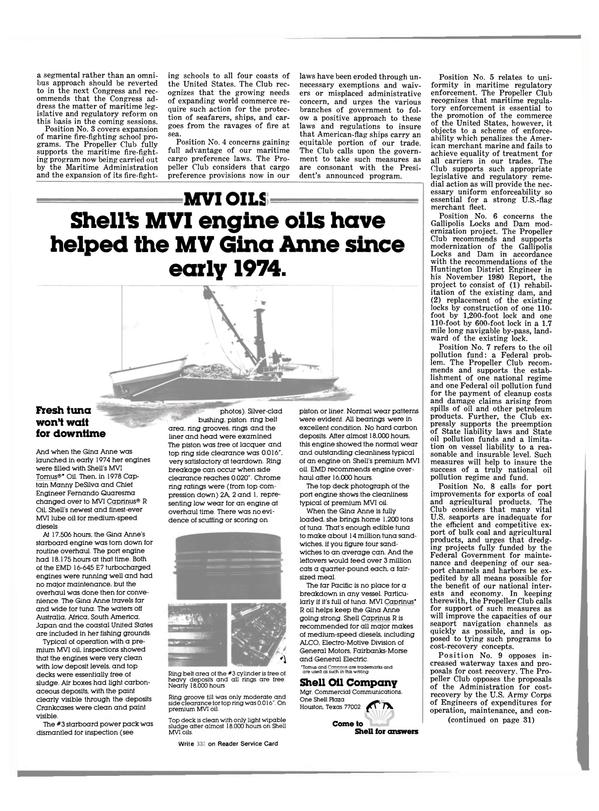 Maritime Reporter Magazine, page 26,  Sep 15, 1981 Manny DeSilva
