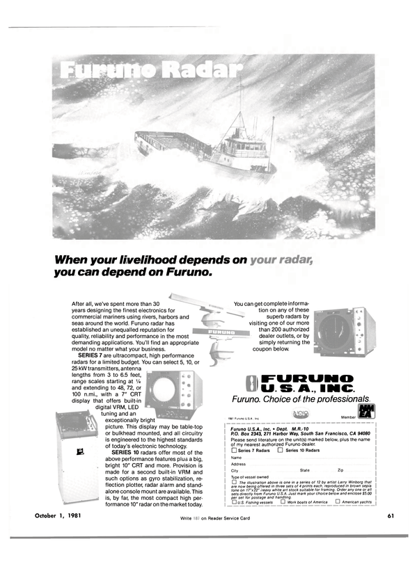 Maritime Reporter Magazine, page 55,  Oct 1981 Virginia