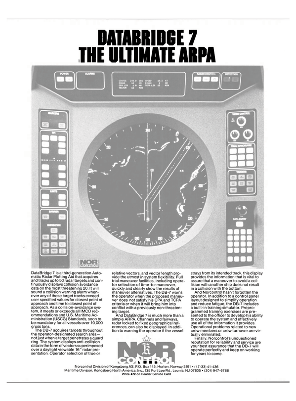 Maritime Reporter Magazine, page 13,  Oct 15, 1981