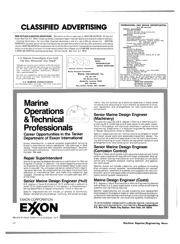 Maritime Reporter Magazine, page 56,  Oct 15, 1981