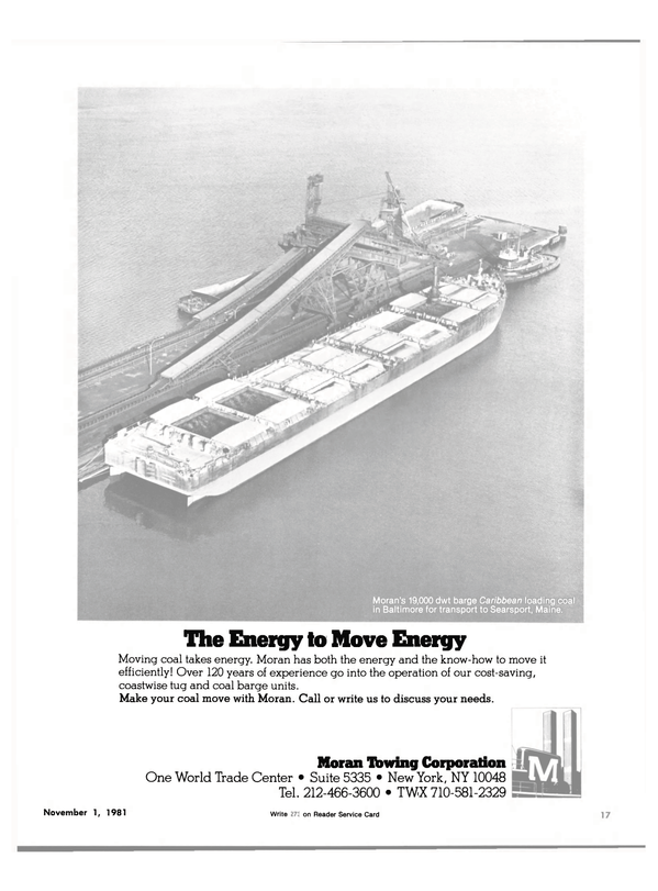 Maritime Reporter Magazine, page 19,  Nov 1981 World Trade Center