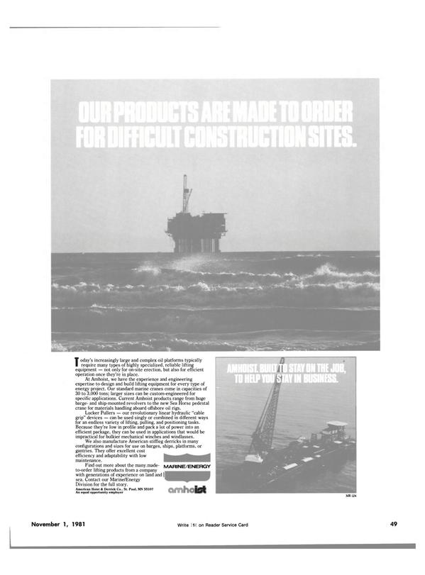 Maritime Reporter Magazine, page 53,  Nov 1981