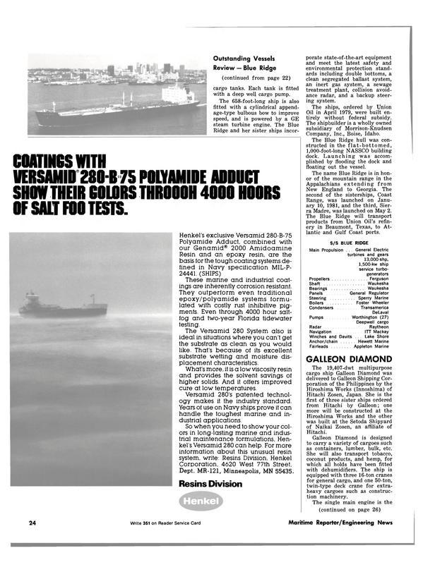 Maritime Reporter Magazine, page 18,  Dec 1981 Idaho