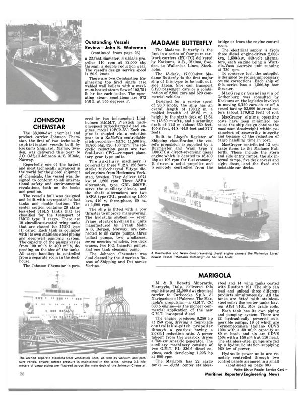 Maritime Reporter Magazine, page 22,  Dec 1981 John B. Waterman