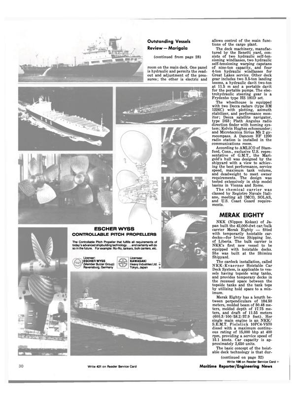 Maritime Reporter Magazine, page 24,  Dec 1981 Connecticut