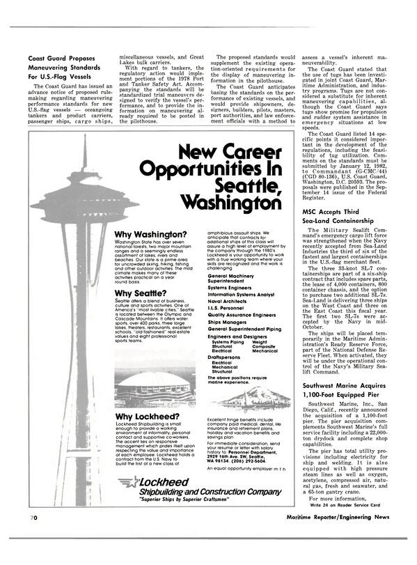 Maritime Reporter Magazine, page 50,  Dec 1981
