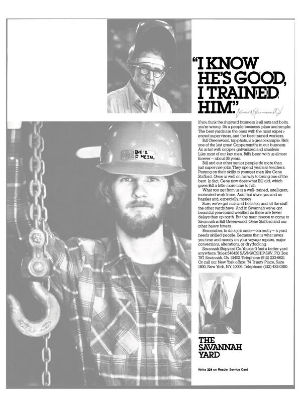 Maritime Reporter Magazine, page 15,  Dec 15, 1981