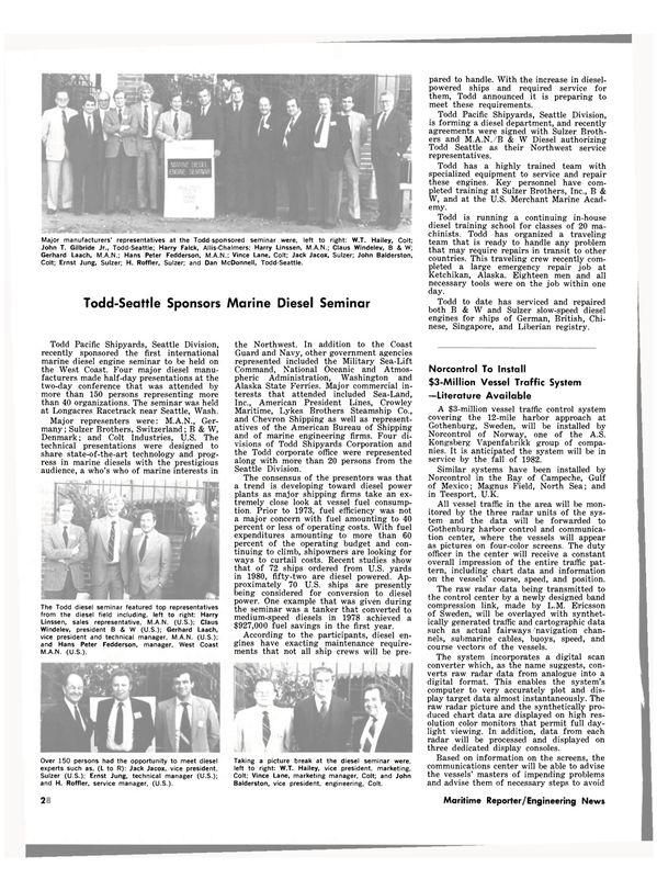 Maritime Reporter Magazine, page 24,  Dec 15, 1981
