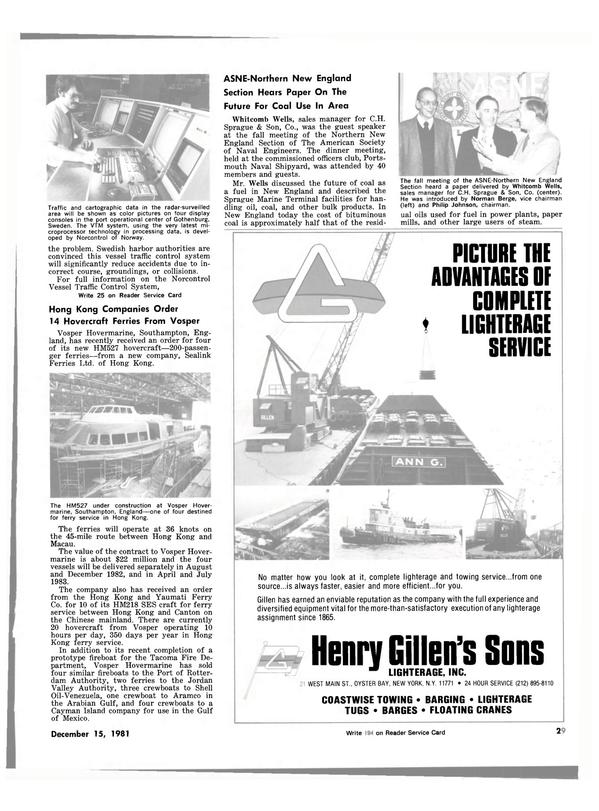 Maritime Reporter Magazine, page 25,  Dec 15, 1981 Gulf of Mexico