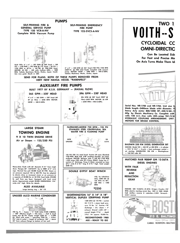 Maritime Reporter Magazine, page 26,  Dec 15, 1981