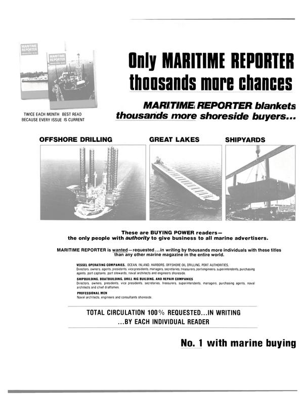 Maritime Reporter Magazine, page 28,  Dec 15, 1981 DRILL RIG BUILDING