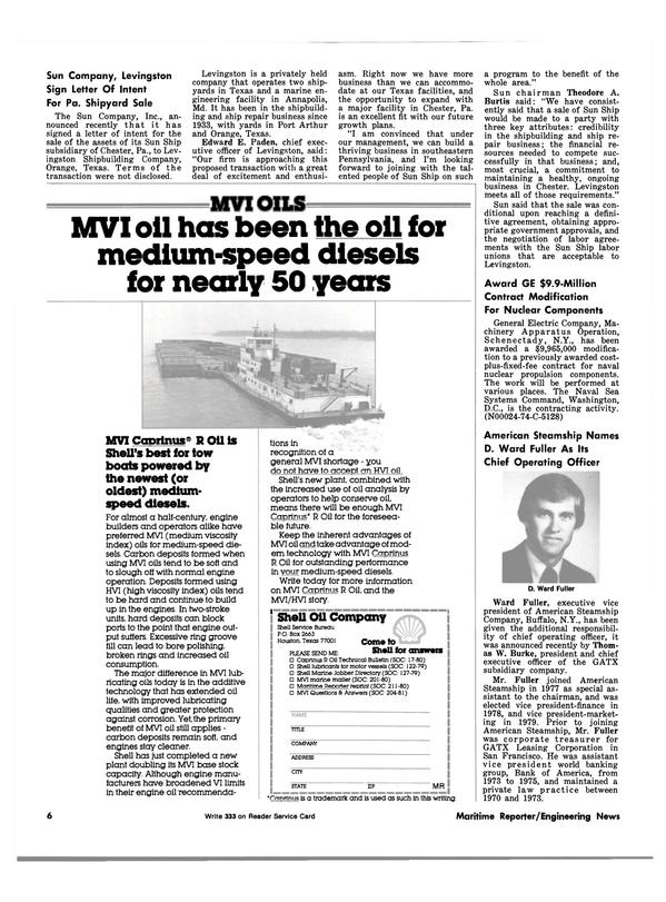 Maritime Reporter Magazine, page 6,  Dec 15, 1981