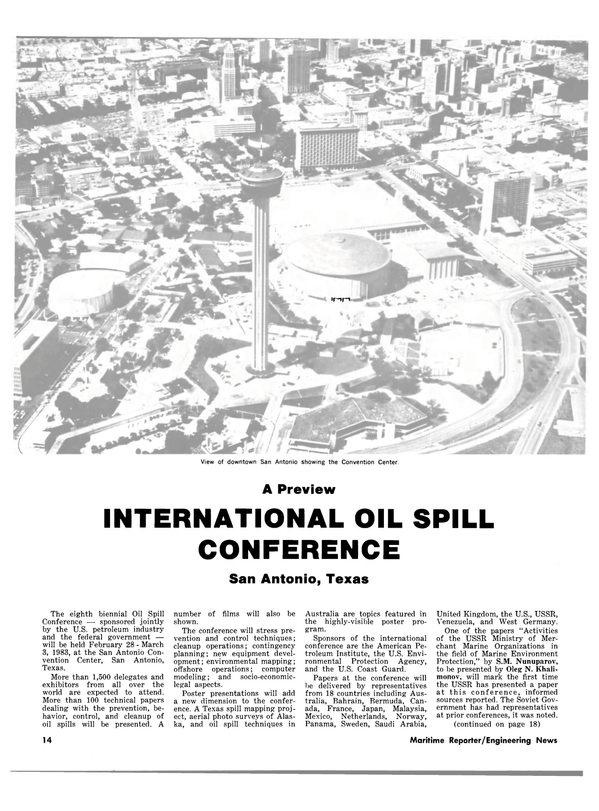 Maritime Reporter Magazine, page 10,  Feb 15, 1983 federal government