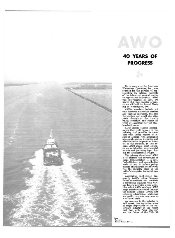 Maritime Reporter Magazine, page 30,  Feb 15, 1983