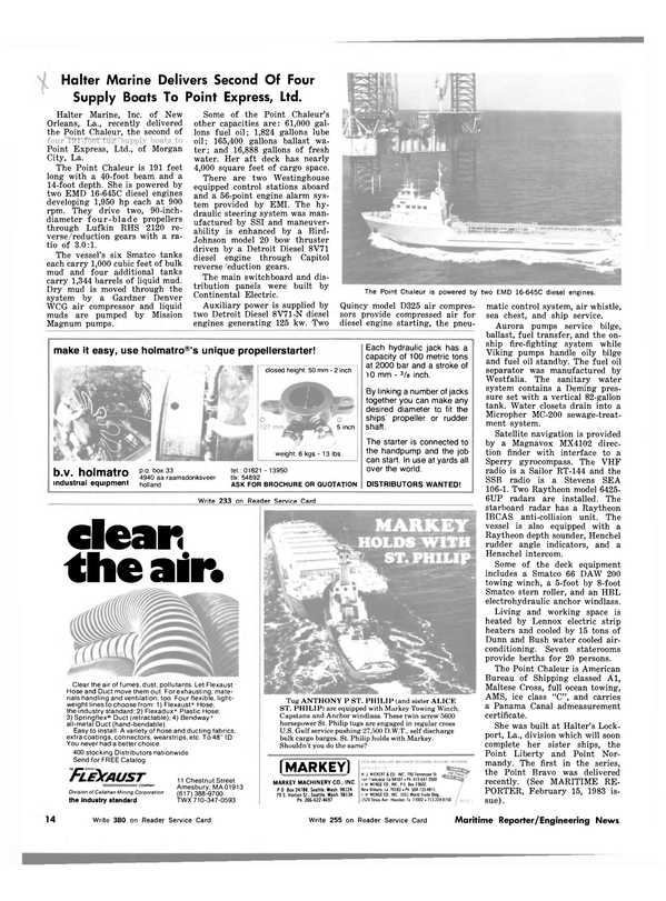 Maritime Reporter Magazine, page 12,  Mar 1983 ALICE ST