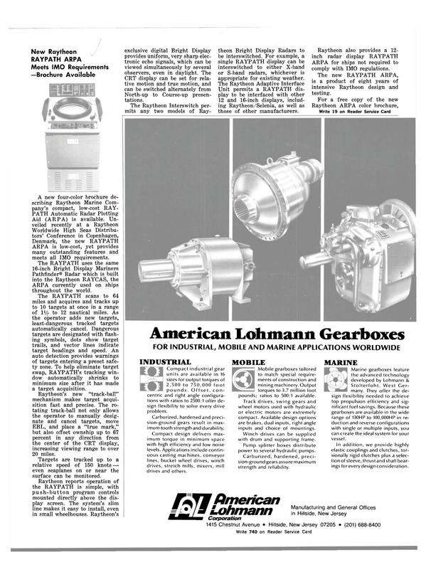 Maritime Reporter Magazine, page 29,  Mar 1983